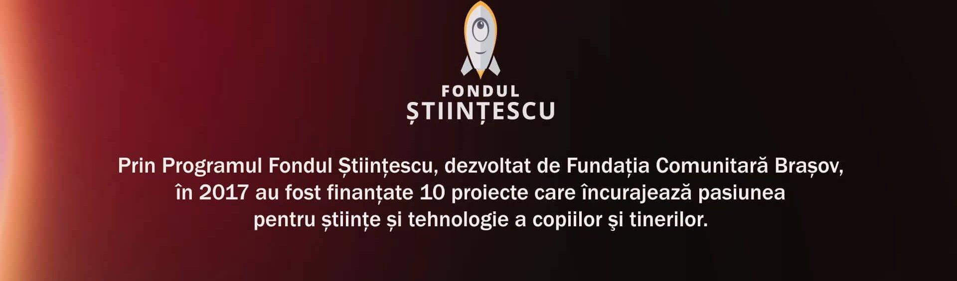 Fondul Stiintescu 2017